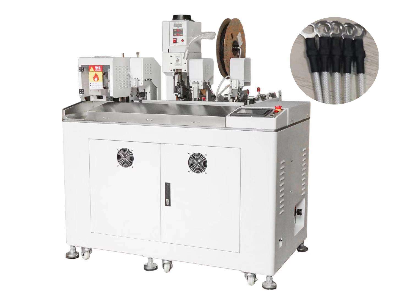 HC-10+RSG单头自动压接机带穿套管烘套管